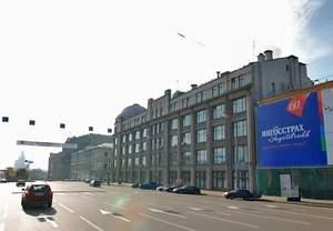 Здание приемной Президента России