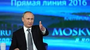 Прямая линия с Президентом РФ Путиным В.В.